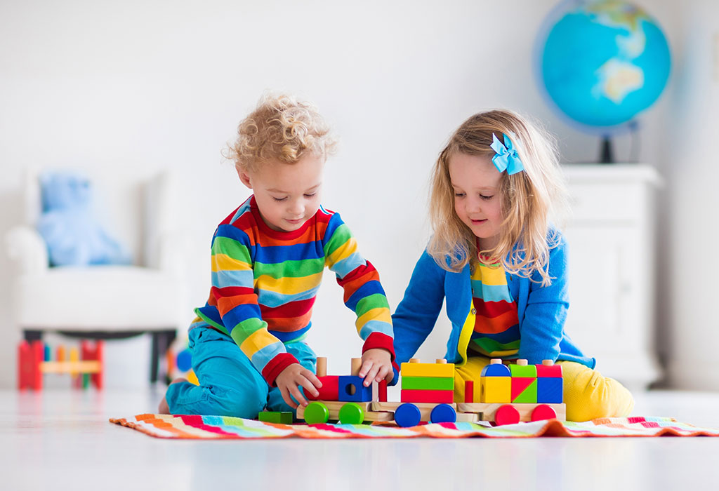Kuidas lapsed õpivad mängima?