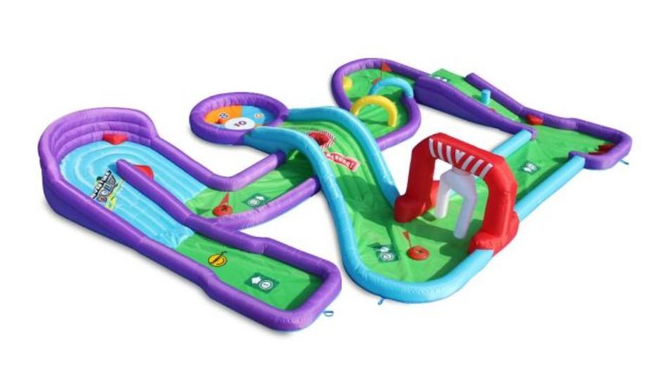 Minigolfi mängurada tagab lõbusa ajaviite